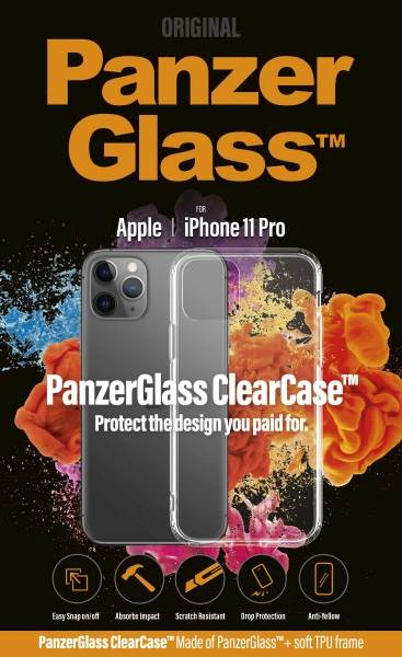 PANZERGLASS CLEAR CASE IPHONE 11 PRO