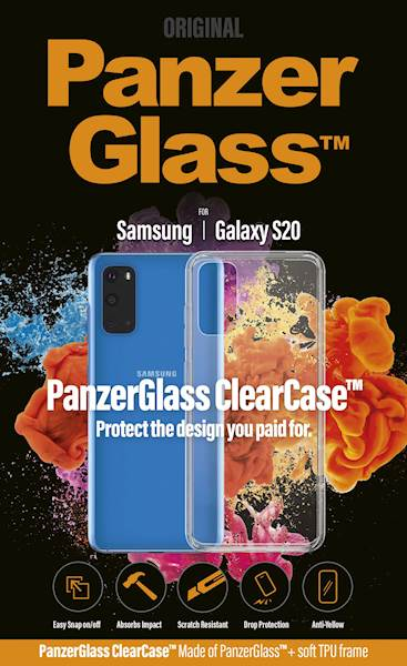 PANZERGLASS CLEAR CASE GALAXY S20